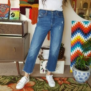 Levi's Wedgie High Rise Jeans